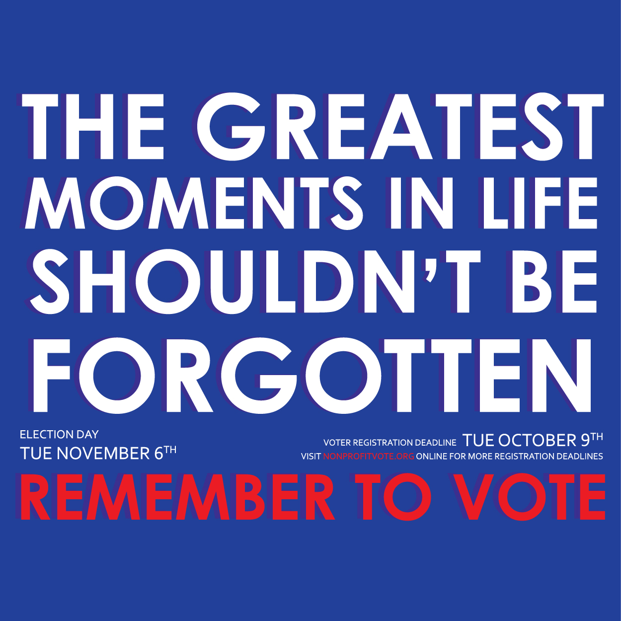 Remember to Vote