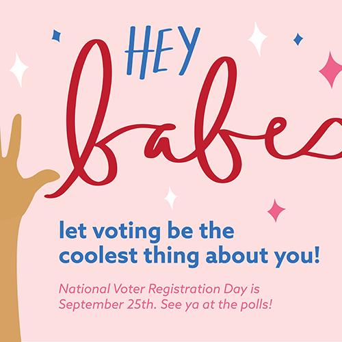 Millennial Babes Vote