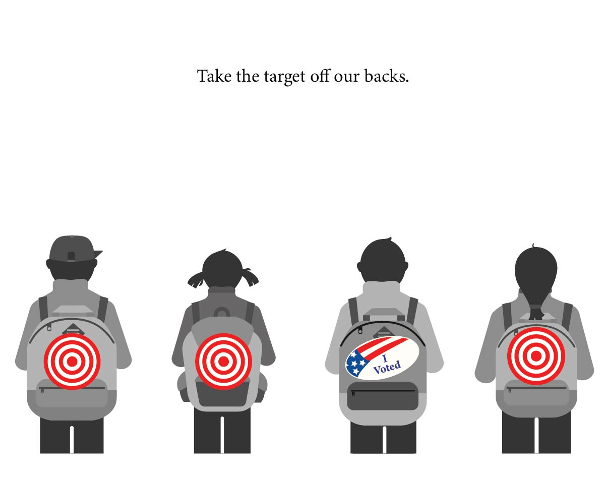 Take The Targets Off Our Backs