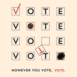 However you vote