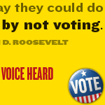 Exercise Your Right to Vote