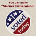 Sticker Generation
