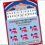 Presidential Election Scratch-Off