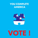 You complete America