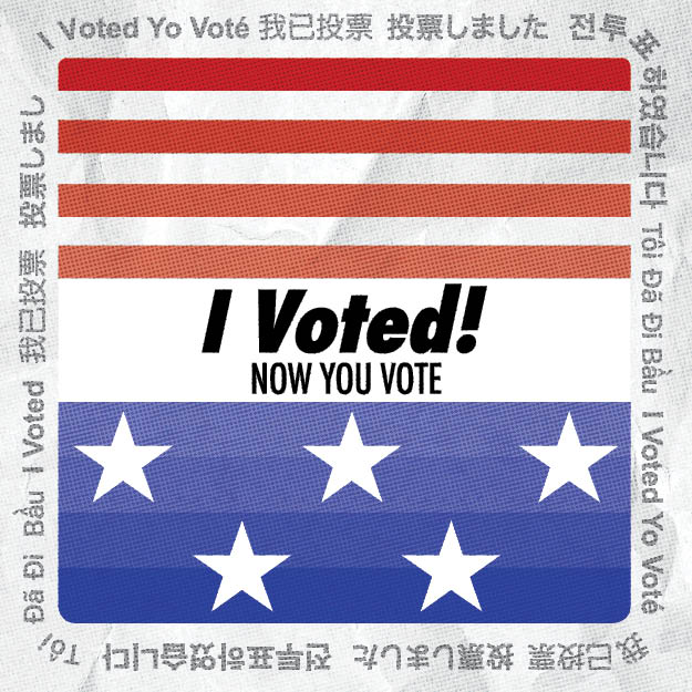 Get Out and Vote Sticker
