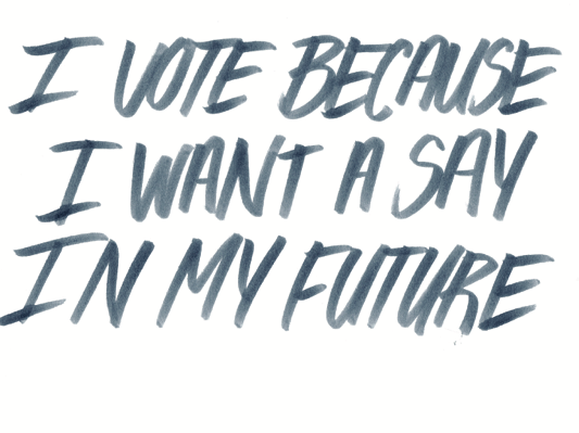 I Vote Because