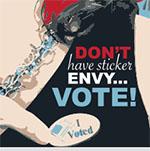 Don't Have Sticker Envy...Vote!