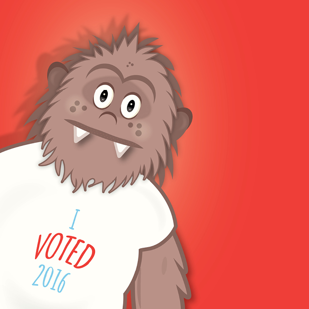 Sasquatch Voted, Did You?